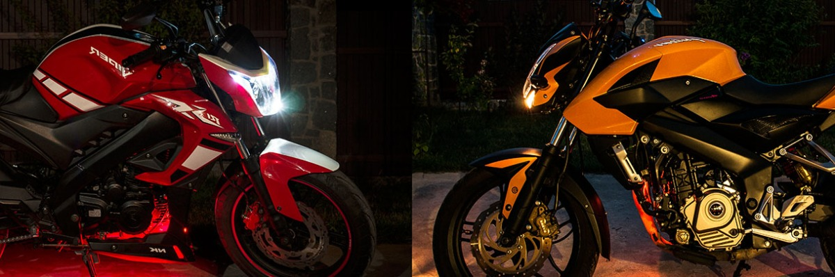 Viper 250 R1 NK (Китай) vs Bajaj Pulsar NS200 (Индия)